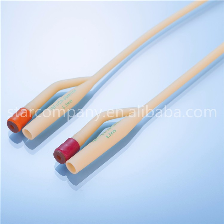 Two Way Latex Foley Catheter Pediatric with CE and ISO Certicified