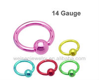 Dongguan crazy colorful nipple ring,fake nipple rings