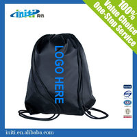 2016 INITI Wholesale Quality Sports Polyester Waterproof Drawstring Bag