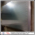 Guangzhou factory selling galvanized perforated plate for wall building