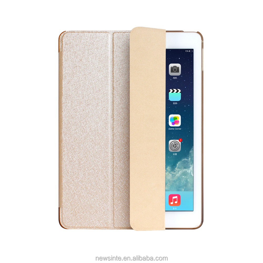 High quality filp leather case for ipad air for ipad mini case