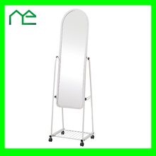 Home Usage Standing Ironing Board Mirror