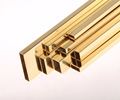 Square rectange brass tube