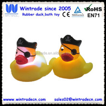 LED swimming pool light toy OEM design duck vinyl toy