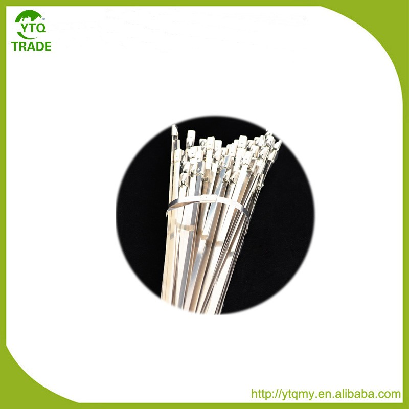 Good Price 4.6*350mm Uncoated Stainless Steel Cable Ties