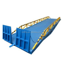10 ton mobile hydraulic yard ramps for truck/warehouse container loading dock levellers