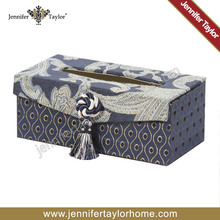 Home storage and organization facial tissue box, rectangle tissue box for hotel office guestroom