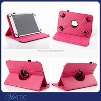 High quality leather stand 360 degree rotary universal tablet case 7inch 8inch 9inch 10.1inch