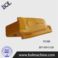 PC300 Excavator bucket tooth point and adaptor