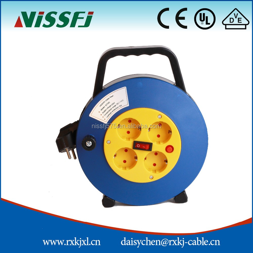 2016 HOT Sale small cable reel automatic cable reel automatic retractable cable reel