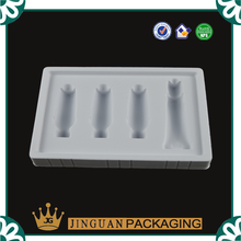 Custom Design Plastic Blister Flocking Inserts Tray for cosmetic