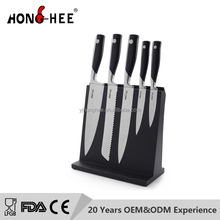 6PCS Royal kitchen set stainless steel knife play set for funny kitchen cook