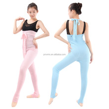 Girls Fashionable High Waist High Stretch Long Soft Warm-up Ballet Dance Pants Adult