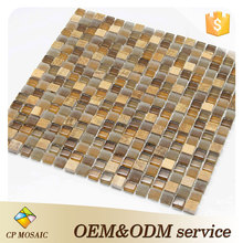 Glass Material 5Mm Mini Mosaic Tiles