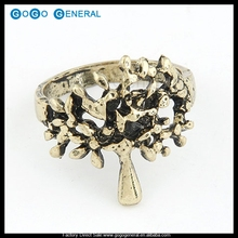The Tree Of Life Charm Mens Designer Finger Rings