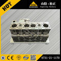 cylinder block assy 6731-21-1170 PC200-7 excavator parts