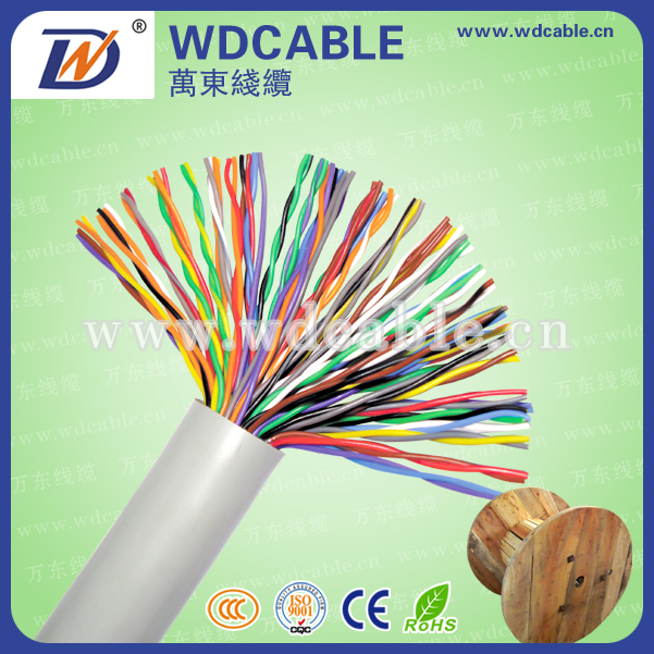 Factory Price 24Awg Multipair Telep- communication Cable with High Quality