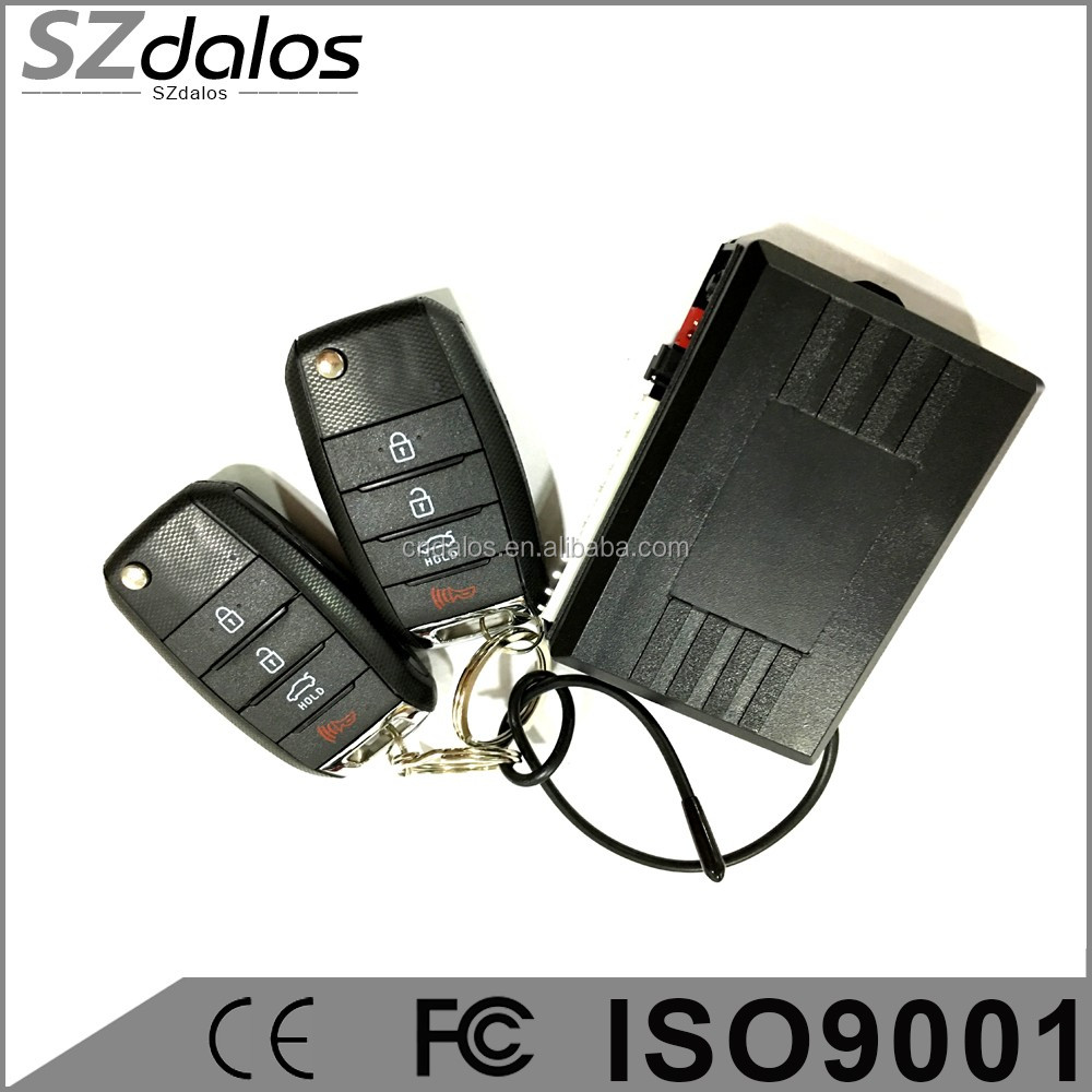 2016 Newest keyless entry system with cheapest factory price & fast delivery time