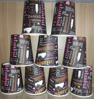 turkey market 7oz cheap disposable single wall paper cup /disposable coffee cup