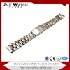 High quality watch bands/gold watch bands wholesale with straight curved end