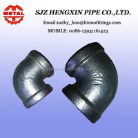 pipe fitting dimension hebei shijiazhuang bs standard galvanized elbow