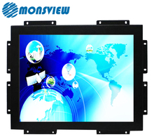 Resolution High Brightness TFT 15 Inch Embedded Industrial LCD Monitor