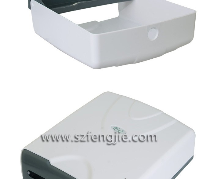 Automatic sensor electric box holder for plastic toilet paper holders