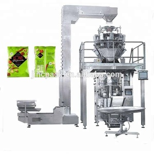Multi-head weighing Chips/Chocolate/Dry herbal nut packaging machine