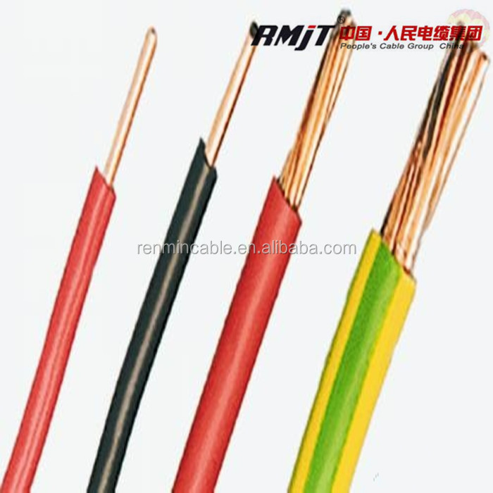 Low Voltage 4mm 6mm 10mm 25mm Pvc Coated Copper Wire Buy