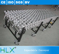 Heavy Duty Model Flexible Expandable Skate Wheel Flow Rack Telescopic Conveyor