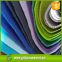 Low Price PP Spunbond Nonwoven Fabric Roll, quilted non woven fabrics wholesale Home Textile Fabric, Fabricas De Tela