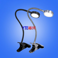 Factory led clip light 5W, LED windows clamp light 5W dimmable gooseneck, LED clip lamp dimmable & light temperature changable