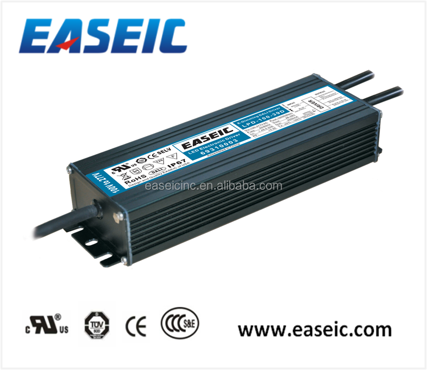 led driver circuit 5 Years Warranty IP67 100W UL approved 2550mA DALI dimming driver led driverled dimmable driver