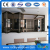 Hot Sale Glass Folding Bronze Anodized Aluminum Windows