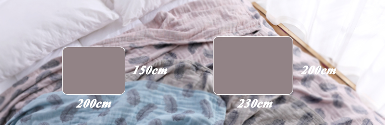 China wholesale luxury stock 100% cotton blue jacquard feather bed blanket for adult