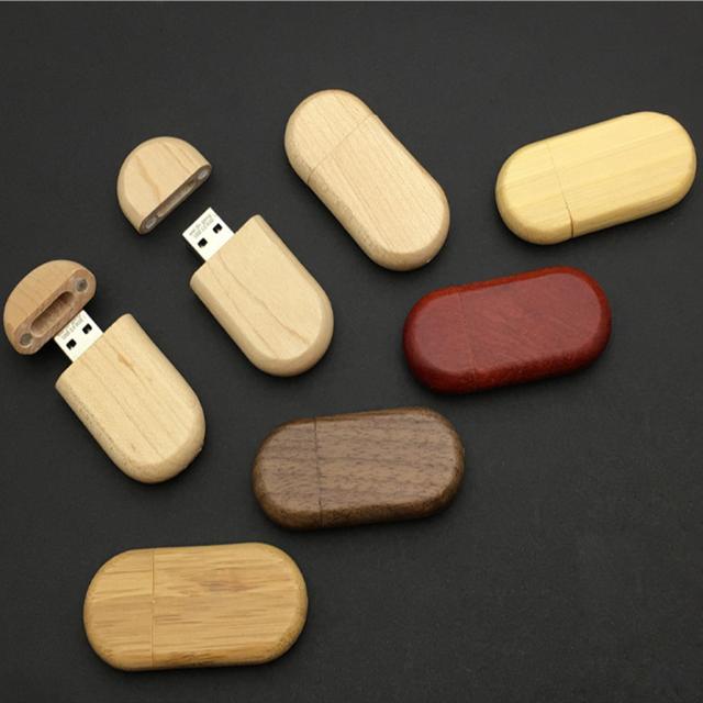 wholesale custom logo u disk sticks flash drives bulk cheap wooden bamboo usb wood pendrive in wooden box