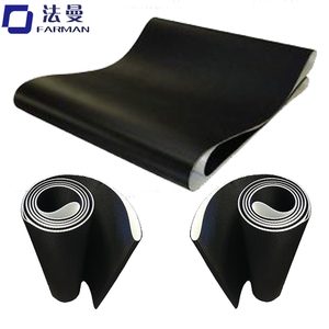 Black Diamond Treadmill Conveyor Belt China Manufacturer,Flat Transmission Belt