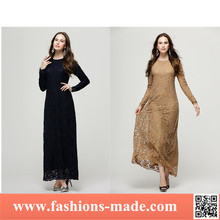 Women Wholesale Islamic Clothing Dubai Long Muslim Evening Dress