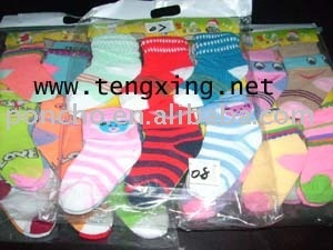100% cotton baby socks