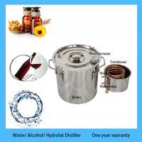 Travel necessory 8L Home water/alcohol distillation equipment liquor whisky wine distiller