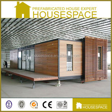Solid Two Storey Customized prefabricated wood house High Quality