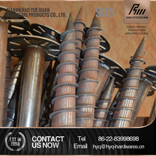 Hot dipped galvanized stainless steel solar ground screw pole anchor and all kind of ground screw