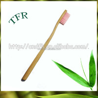 OEM customized bamboo child hotel disposable mini toothbrush with paste