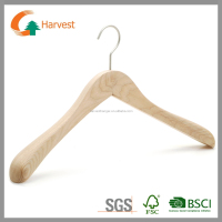 Women wooden coats hanger