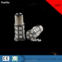 Super bright S25 5050 27SMD 1156 1157 flash led light 12V car flashing led brake light 7.5w auto led bulbs