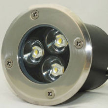 2012 stainless steel led underground light,led underground light 3w;5w;7w;9w,round/square