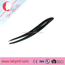Eyebrow Tweezers Lightweight Stainless Steel Handy LED Light Eyelash Eyebrow Hair Removal Tweezers Makeup Tool