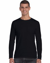 mens long sleeve t shirt wholesale plain custom morag t shirt 76400 95 cotton /5 elastane t-shirt