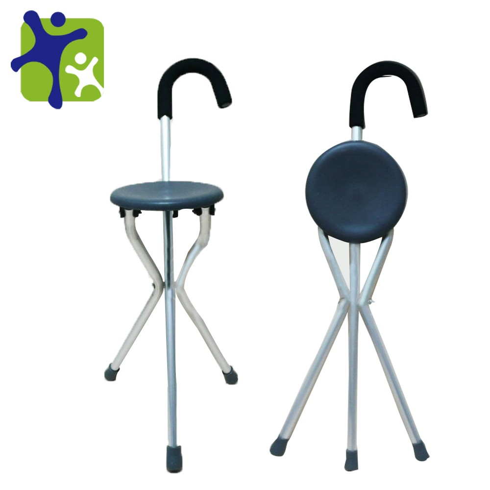 Walking Cane with chair function Walking aids seat sticks