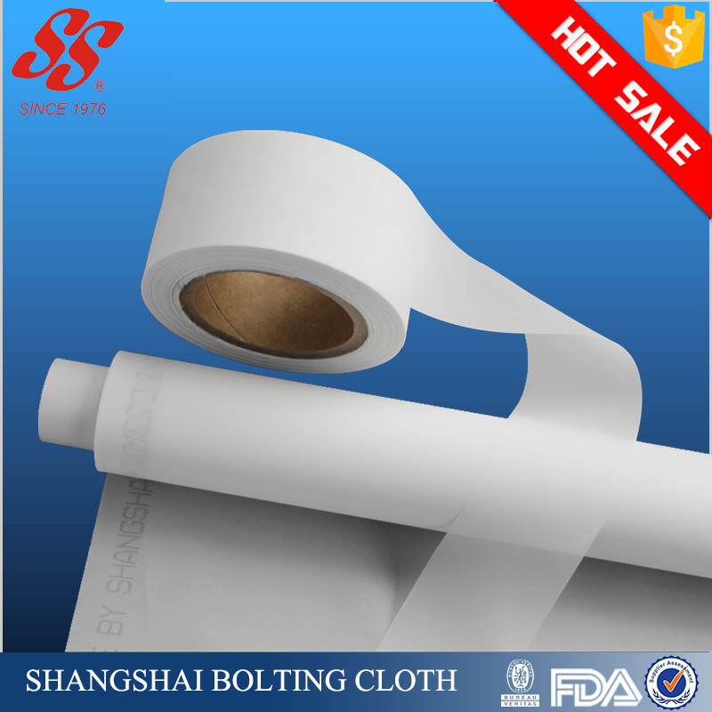 High quality FDA 100 micron polyester screen plastic filter mesh